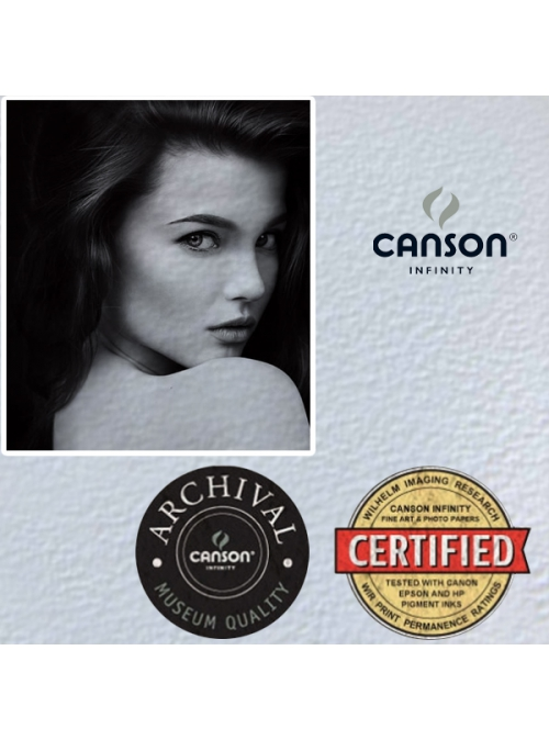 Canson - Aquarelle Rag Heavily Textured Matt 240GSM