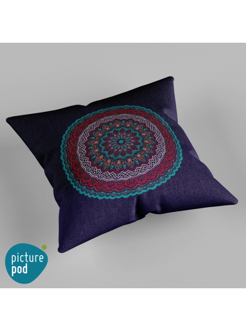 Ornamental Circle Cushion - 50cm