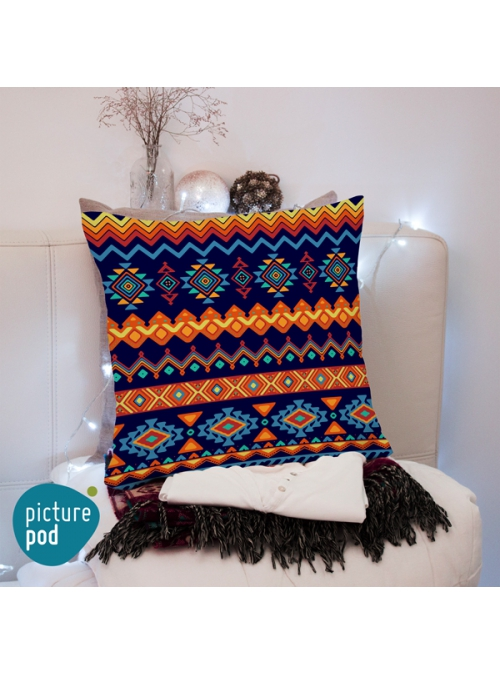 Tribal Design Cushion - 50cm