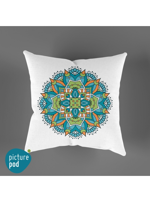 Abstract Ethnic Cushion - 35cm