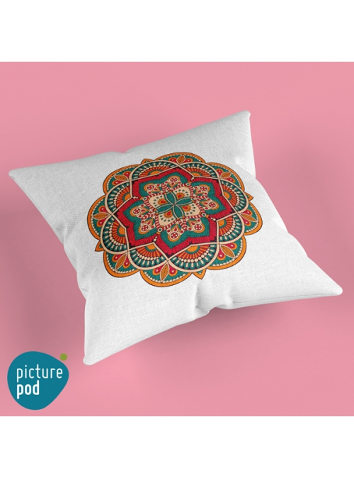 Ethnic Design Cushion - 50cm