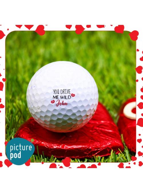 Valentine Golf Balls