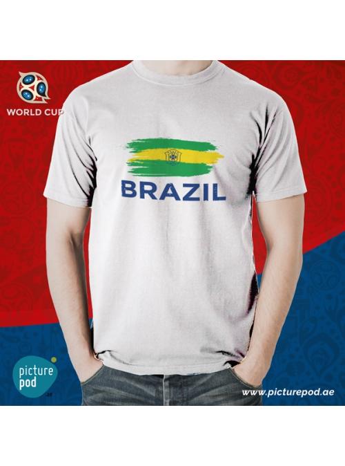 Brazil Flag Tee