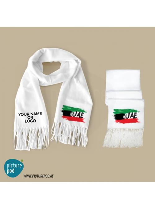 Mens Scarves - Flag UAE
