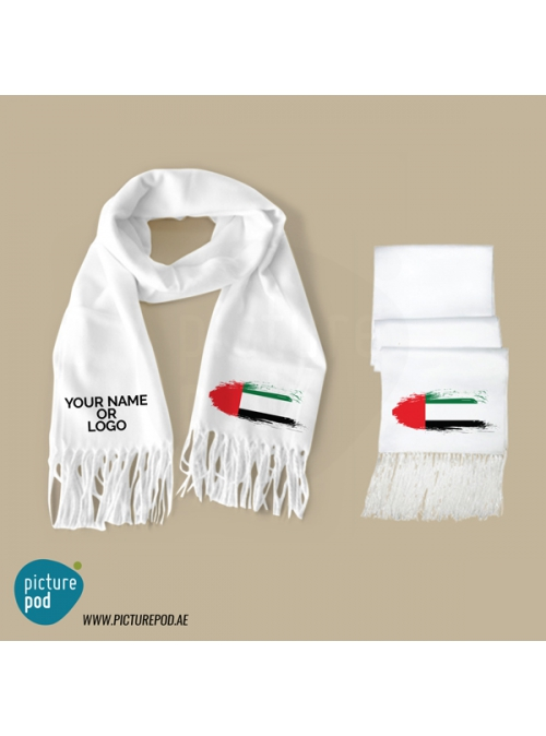 Mens Scarves - UAE Flag