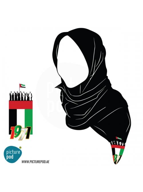 Womens Scarves - Flag Spirit