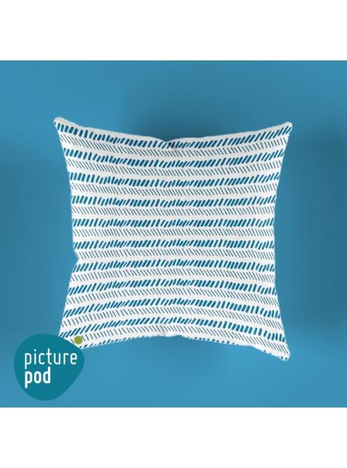 Blue tribal Cushion
