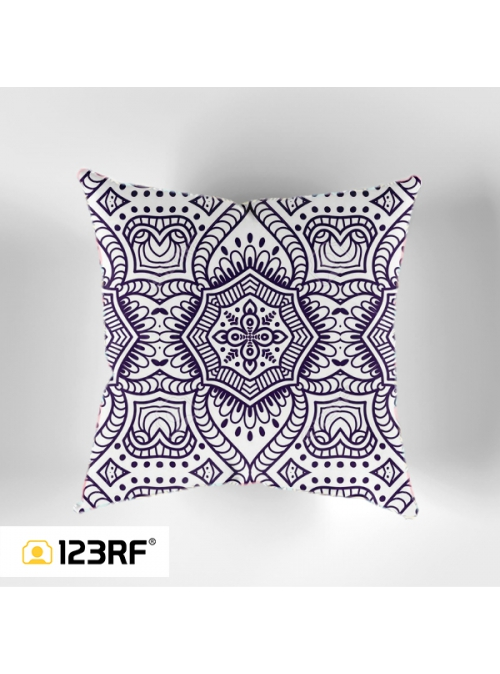 Ethnic Floral Cushion