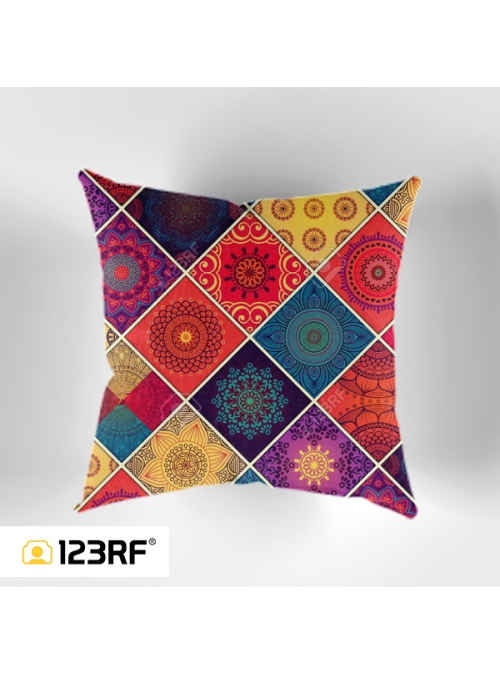 Ethnic Pattern Cushion