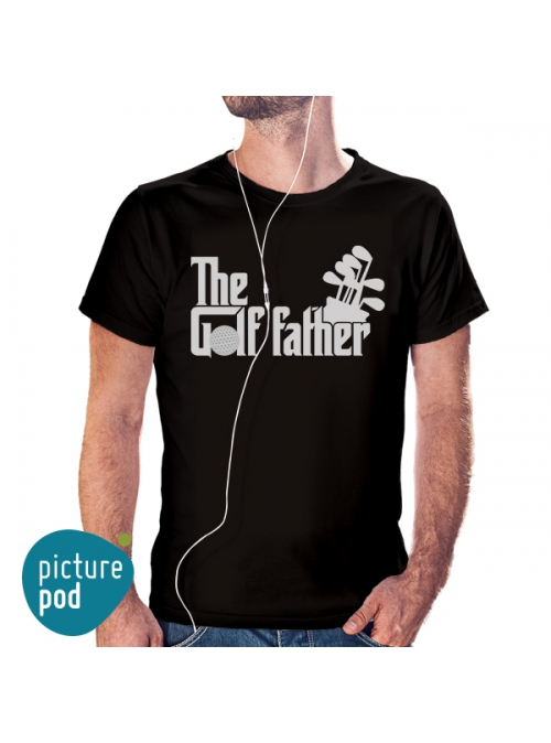 Golf Father T-shirt
