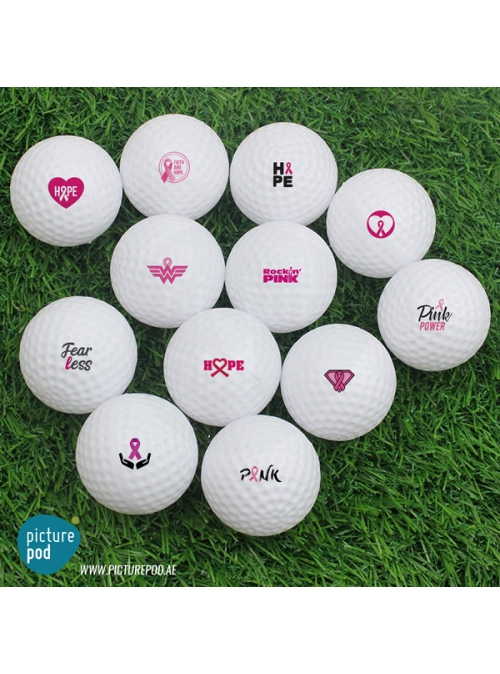 Golf Balls - Single Side Prints