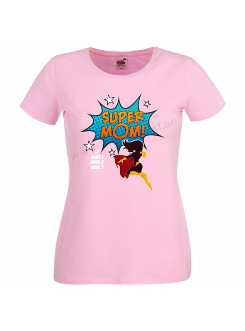 SuperMom Customized T-Shirt