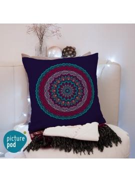 Ornamental Circle Cushion - 50cm