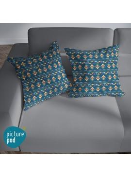 Arrow Seamless Pattern Cushion - 35cm