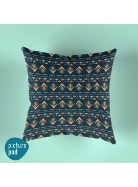 Arrow Seamless Pattern Cushion - 35cm