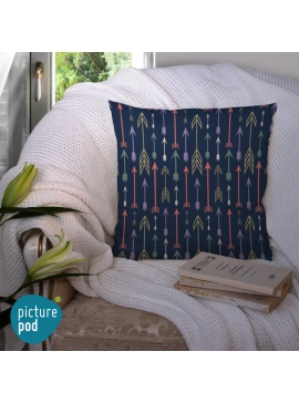 Arrow Pattern Cushion - 50cm