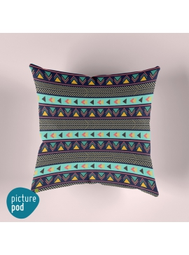 Striped Arrows Cushion - 35cm