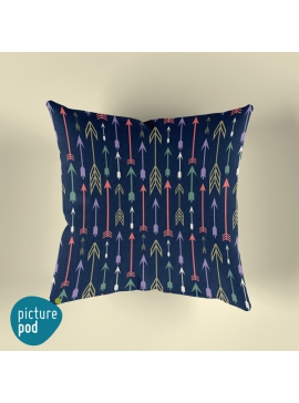 Arrow Pattern Cushion - 35cm