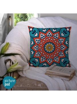 Indian Ornament Cushion - 50cm