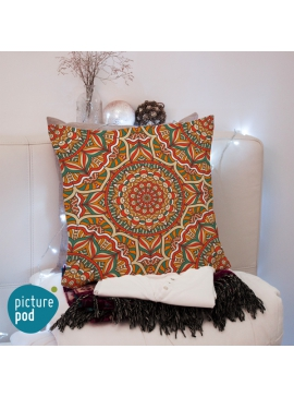 Vintage Ornament Cushion - 50cm