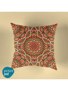 Vintage Ornament Cushion - 35cm