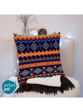 Tribal Design Cushion - 50cm