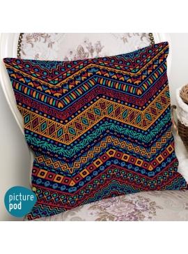 Tribal Pattern Cushion - 50cm