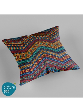 Tribal Pattern Cushion - 50cm
