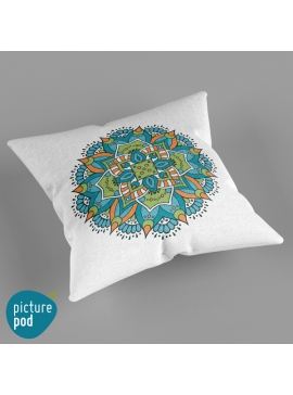 Abstract Ethnic Cushion - 50cm