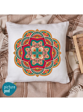 Ethnic Design Cushion - 50cm