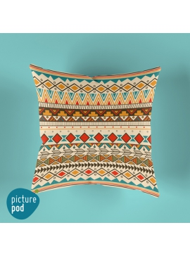 Ethnic Pattern Cushion - 35cm