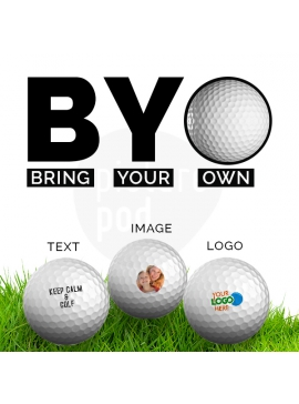 Bring your own Golf Balls
