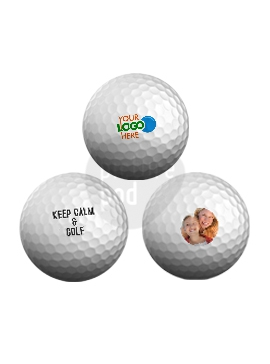 Golf Balls - Single-Sided Prints (12 Units)