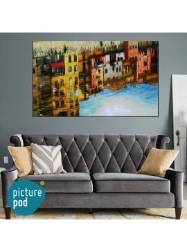 Venetian Scene Canvas