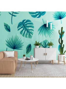 Tropical Theme Wall Cover