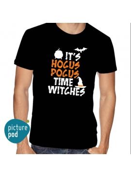 Mens Tee Hocus Pocus Black