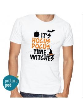 Mens Tee Hocus Pocus White