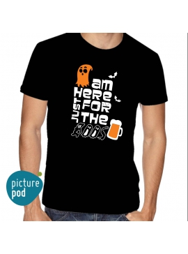 Mens Tee Just for the boo's Black