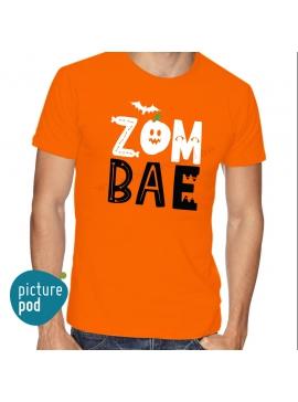 Mens Tee Zom Bae Orange