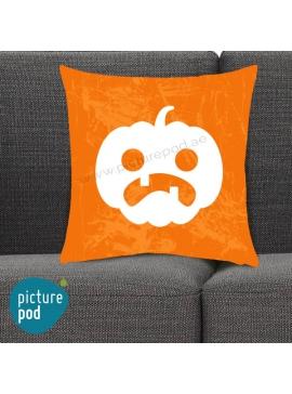 Halloween Pumpkin Oldie Orange Cushion