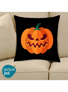 Halloween Pumpkin Ziggy Cushion