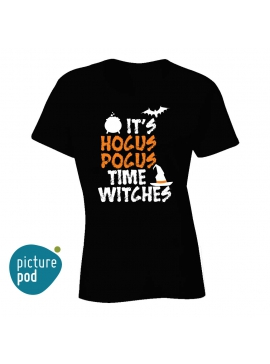 Womens Tee Hocus Pocus Black