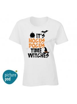 Womens Tee Hocus Pocus White
