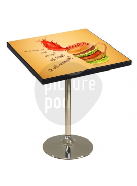 Table Top Square 75Cm