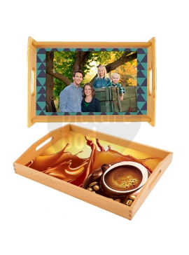 Natural Serving Tray 25.4 X 35.6 Cm
